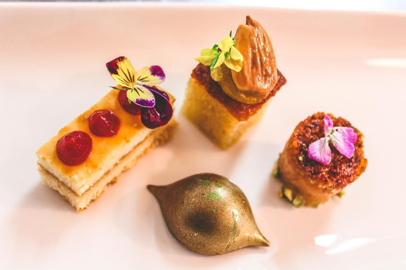 Gourmet Food at Bunratty Manor