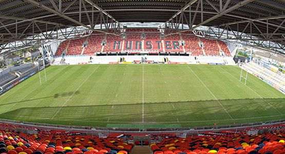 Thomond Park Stadium from thomondpark.ie